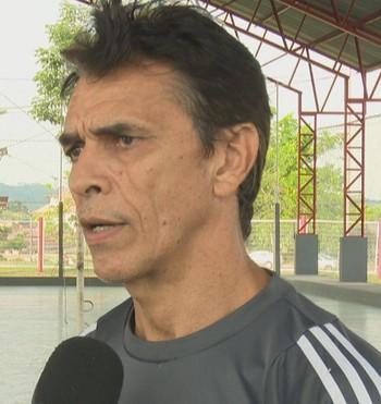 Jânio Teles , técnico da Seleção Acreana de vôlei feminino  (Foto: Reprodução/ Rede Amazônica Acre)