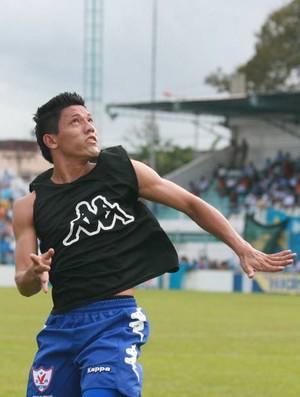 Zagueiro Charles ainda não definiu se continuar no Águia (Foto: Marcelo Seabra/O Liberal)