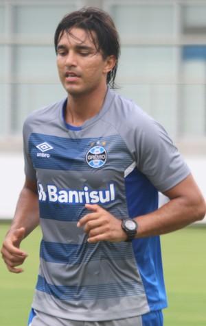 Edílson Marcelo Moreno Grêmio (Foto: Eduardo Moura/GloboEsporte.com)