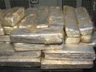 Dois suspeitos de tráfico são presos com 180 kg de maconha, no ES