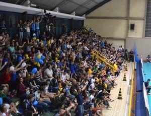 Torcida marca presença na semifinal para empurrar São José Vôlei (Foto: São José Vôlei/ Divulgação)