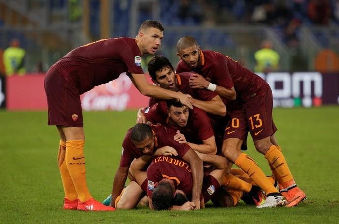 Roma x Inter de Milão (Foto: Reuters)