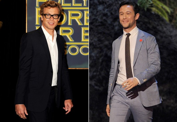 Simon Baker e Joseph Gordon-Levitt (Foto: Getty Images)