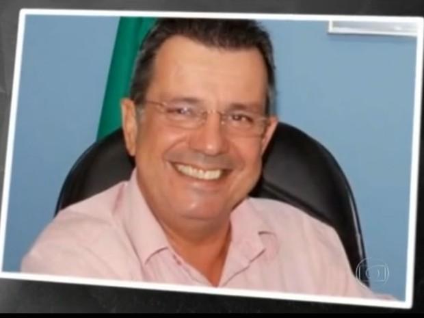 Prefeito de Mangaratiba, Evandro Capixaba (Foto: Reprodução/TV Globo)