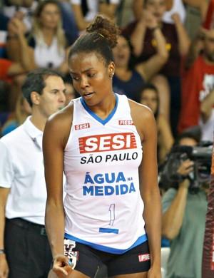 Fabiana confia na reação do Sesi-SP na série contra o Osasco (Foto: Lucas Dantas/ Sesi-SP Divulgação)