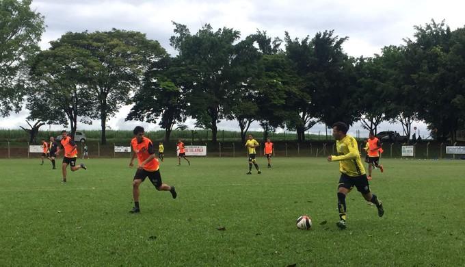 Caldense e Independente de Limeira; jogo-treino (Foto: Priscila Loiola/A.A. Caldense)