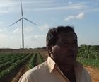 'O vento me dá dinheiro', diz fazendeiro (Felipe Gibson/G1)