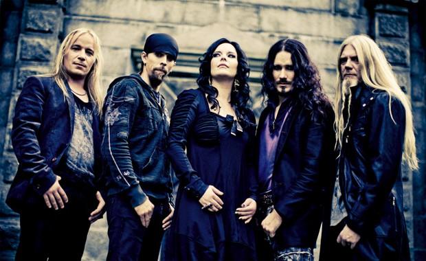 A banda de metal Nightwish, da Finlândia (Foto: Divulgação)