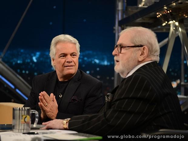 Carlos Eduardo Leão participa do Programa do Jô desta quinta-feira (Foto: TV Globo/Programa do Jô)