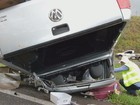 Mulher de 60 anos morre após colisão entre caminhonete e carreta em Matão
