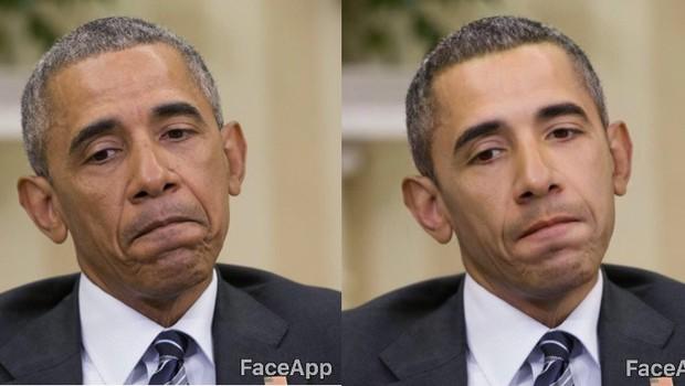 Aplicativo FaceApp criou uma ferramenta que deixava os usuários alterarem as imagens para se parecerem com pessoas de origem caucasiana, asiática, indiana ou negra (Foto: Reprodução/YouTube)