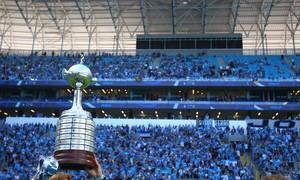 Confira as imagens dos festejos na Arena antes de Grêmio x Flu (Lucas Uebel/Grêmio FBPA)