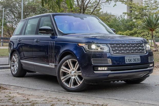 Land Rover Range Rover SVAutobiography (Foto: Marcos Camargo / Autoesporte)