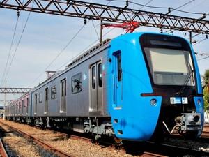 trem chines da SuperVia exterior (Foto: Divulgação/ SuperVia)