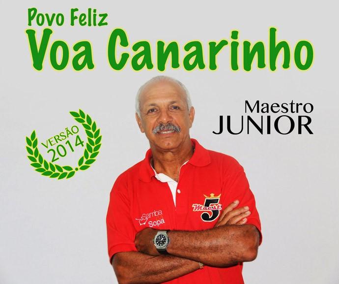 Homenagem Júnior 60 anos (Foto: Divulgação)