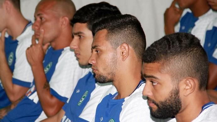 Jogadores do elenco do Goiás (Foto: Rosiron Rodrigues/Goiás E.C.)