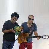 Jeff Chagas e Robertinho Silva (Foto: Freitas Domingão/Divulgação)