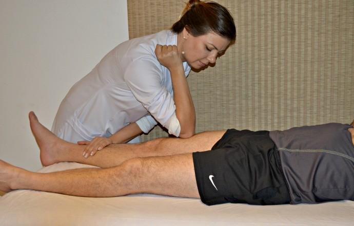 Massagem desportiva euatleta (Foto: Divulgação)