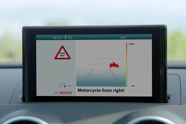 Bosch cria escudo de proteção digital para motociclistas (Foto: Divulgação)