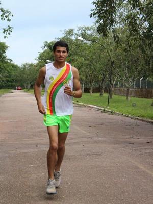 Thiago Prates, atleta de Candeias do Jamary (Foto: Daniele Lira)