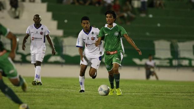 Icasa x Tiradentes, pelo Campeonato Cearense (Foto: Normando Sóracles/Agência Miséria de Comunicação)