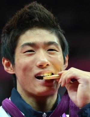 Sul-coreano Yang Hak-Seon ginástica artística (Foto: AFP)
