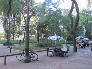 Praça Dom José Gaspar (Foto: Roney Domingos/ G1)