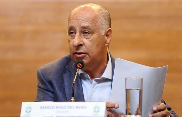 'De volta' à CBF, Marco<br />Polo Del Nero pode ser<br />banido do futebol pela Fifa