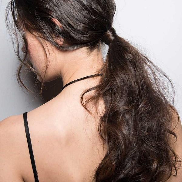 Messy hair- um rabo de cavalo (Foto: Divulgação)