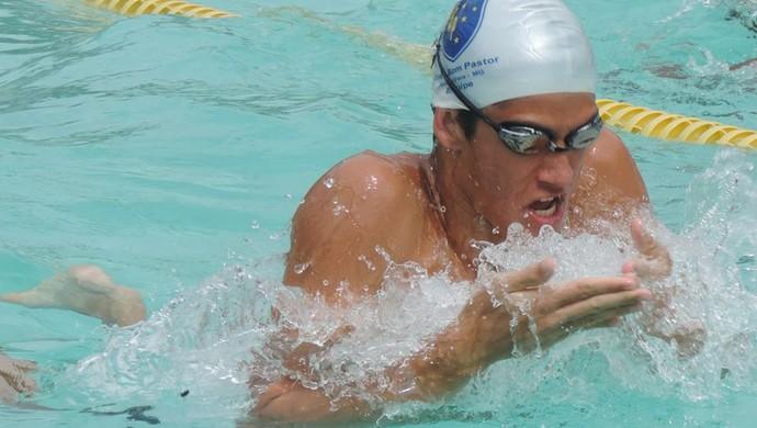 Nadador Juiz de Fora (Foto: Gabriel Rodrigues/Arquivo Pessoal)