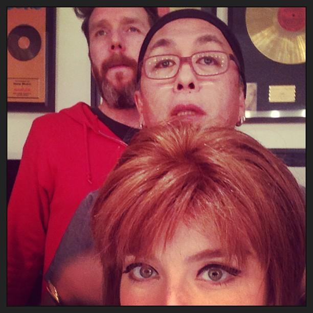 Angélica, Celso Kamura e Alexandre Herchcovitch  (Foto: Reprodução/Instagram)
