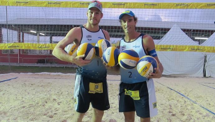 Alison e Emanuel desfazem parceria após quatro anos e uma medalha olímpica (Foto: Túlio Moreira / GloboEsporte.com)