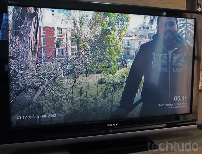 Transforme a TV em porta-retratos com o Chromecast (Foto: Paulo Alves/TechTudo )
