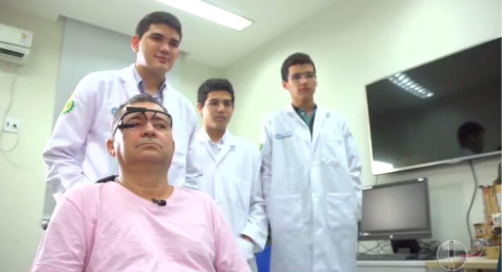 Projeto da UFRN ajuda pacientes com Esclerose Lateral Amiotrófica (Foto: Inter TV Cabugi)
