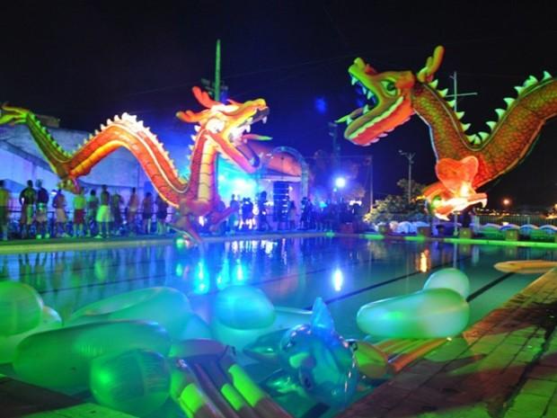 Primavera e verão são as épocas mais comuns para as festas na piscina no Rio (Foto: Divulgação / Revolution Party)