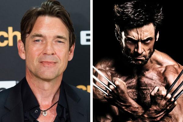 O ator Dougray Scott e o Wolverine de Hugh Jackman (Foto: Getty Images/Reprodução)