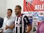 Atacante do NAC agradece chance de trabalhar com Gilmar Estevam