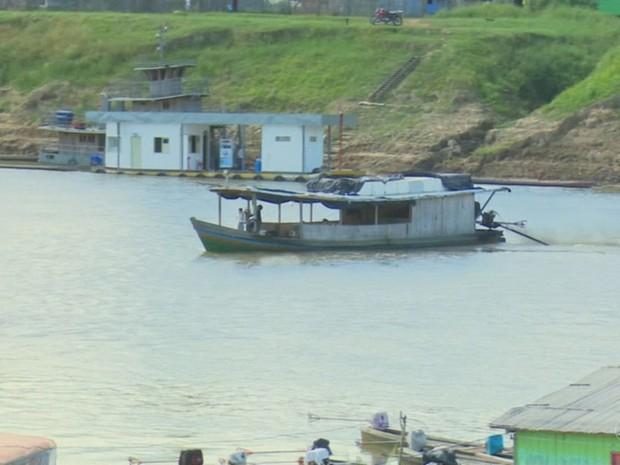 Rio Juruá (Foto: Reprodução/Rede Amazônica Acre)