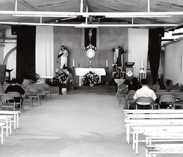 Altar da Congregação de Jesus e Maria (Foto: Reprodução)