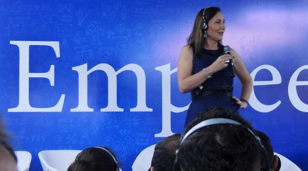 Martha Gabriel, em palestra na Feira do Empreendedor 2016 (Foto: Valdir Ribeiro Jr)
