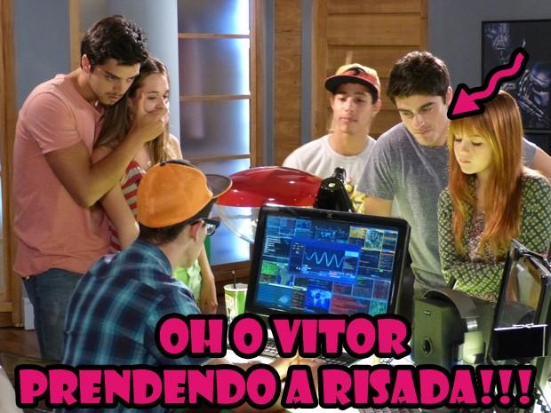 Bruno, Fatinha, Vitor, Orelha, Pilha e Morgana (Foto: Malhação/ TV Globo)