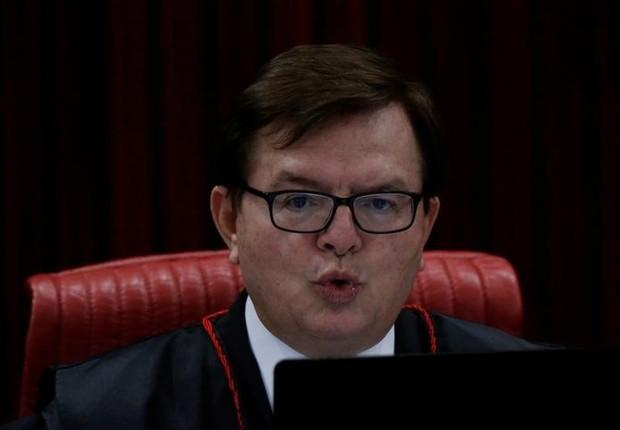 Ministro Herman Benjamin, relator do julgamento no TSE da chapa Dilma-Temer (Foto: Ueslei Marcelino/REUTERS)