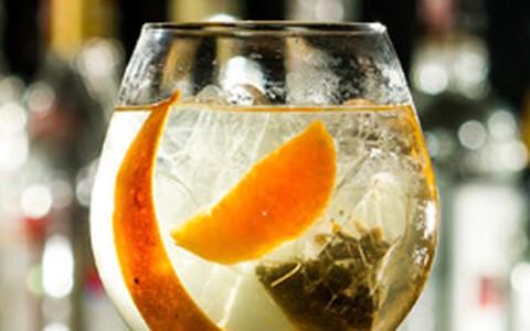 Gim tônica com tangerina do Astor