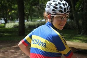 Alexandra Serrano Copa Internacional de Mountain Bike (Foto: Maritza Borges)