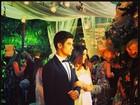 Carol Castro e Raphael Sander se casam no Rio
