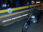PRF prende motociclista com moto adulterada na BR-421, em RO