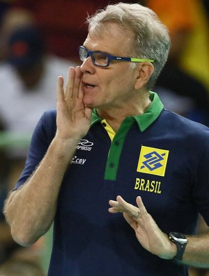 Bernardinho Brasil x Eslovênia vôlei (Foto: Célio Messias/Inovafoto/CBV)