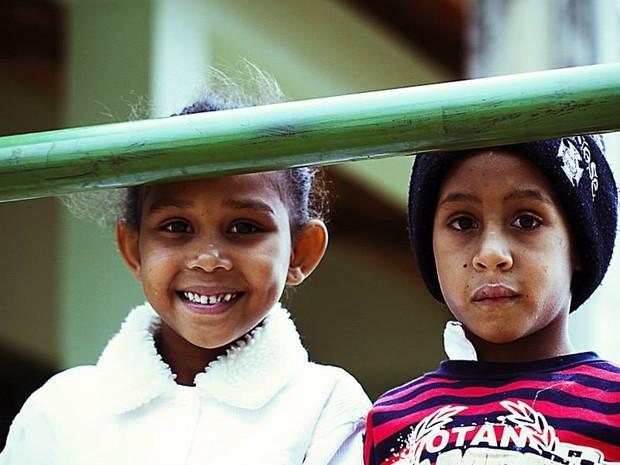 Alexandre Barbado viaja pelo Brasil e exterior ajudando e retratando comunidades carentes (Foto: Reprodução/ Alexandre Barbado)