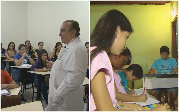 Dia dos Professores é destaque no telejornal (Foto: Amazonas TV)
