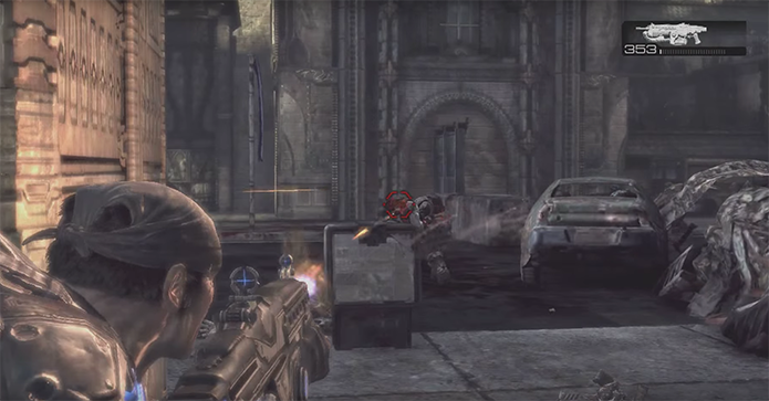 Gears of War 2 teve melhorias gráficas (Foto: Reprodução/YouTube)
